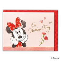 母の日カード ディズニー ミニー 花の輪 グリーティングカード 759117 日本ホールマーク