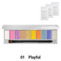 【数量限定】LUNASOL(ルナソル)ザライティングカラーアイズ EX01(Playful) 洗顔料(サンプル)のおまけ付