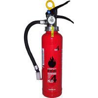 初田製作所 業務用 粉末(ABC)消火器 【蓄圧式】 4型 KLD-4 095089(直送品)