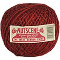 NUTSCENE(ナッツシーン) 麻ひも ミディアムボール Red 150m SBR250(直送品)