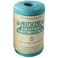 NUTSCENE(ナッツシーン) 麻ひも スプール Aqua 120m SA200(直送品)