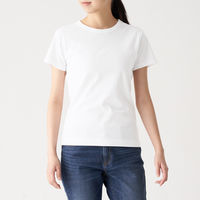 汗じみしにくい半袖Tシャツ 婦人 M