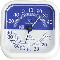 アイシー スクエア80温湿度計 サーモ440 (直送品)