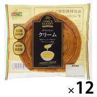 デニッシュ クリーム 1セット(12個入) コモ ロングライフパン