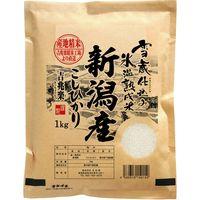 サニーフーズ 雪蔵仕込み氷温熟成 新潟産 米 こしひかり(1kg×10袋入り) HNK-1(直送品)