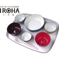 大成樹脂工業 五感で楽しむ自立支援食器IROHA フルセット オリジナル色 IROHA01(直送品)
