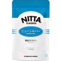 とろみ調整食品 ゼラチン ニューシルバー 500g 123 1ケース(20袋入)(直送品)