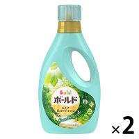 【数量限定】ボールドジェル ユニセックス グリーンブリーズの香り 本体 750g 1セット(2個入) 洗濯洗剤 P&G