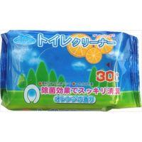 昭和紙工 オアシス トイレクリーナー 30枚 4571174200047 1セット(30個)(直送品)