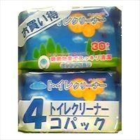 昭和紙工 オアシス トイレクリーナー 30枚×4個パック 4571174200061 1セット(12個)(直送品)