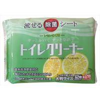 和光製紙 流せる除菌トイレクリーナー レモンの香り 24枚 4903635801881 1セット(24個)(直送品)