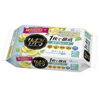 エリエール キレキラ!トイレおそうじシート詰替 シトラスミントの香り 1パック(10枚入×2個) 大王製紙