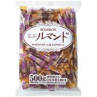 ブルボン ミニルマンドキャラメルクリーム&ココアクリーム 1袋(約100本入)