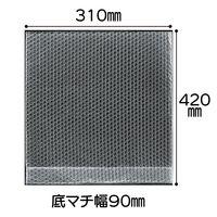 プチプチ(R)袋 底マチ付き(宅配袋 大用)310×420×90mm 1袋(100枚入)川上産業
