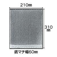 プチプチ(R)袋 底マチ付き(宅配袋 特小用)210×310×60mm 1袋(100枚入)川上産業