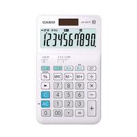 カシオ計算機 W税計算 中型(ジャストサイズ 10桁)JW-100TC-N