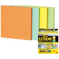 ポストイット 付箋 ふせん エクストリーム ノート 76×76mm 4色セット 1箱(12冊入) EXTRM33-12ASJ1