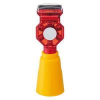 ソーラー式赤色点滅灯 ソーラーピカピカ 三角コーン専用フラッシュ SPP-30 エイ・エム・ジェイ 1個