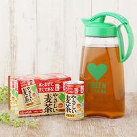 やさしい麦茶(濃縮)180g×6+ポット