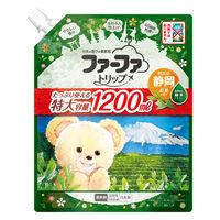ファーファトリップ静岡 濃縮柔軟剤 お茶の香り 詰め替え 1200ml 1セット(2個) 柔軟剤 NSファーファ・ジャパン