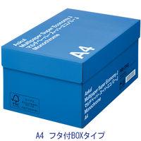 コピー用紙 マルチペーパー スーパーエコノミーJ A4 1箱(5000枚:500枚入×10冊)フタ付きBOXタイプ 国内生産品 アスクル