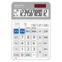 シャープ 新消費税対応電卓 EL-SA72-X
