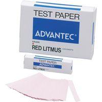 リトマス試験紙 紙箱入 赤 33600752 1箱(1000枚入) アドバンテック東洋(直送品)