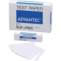 リトマス試験紙 紙箱入 青 33600753 1箱(1000枚入) アドバンテック東洋(直送品)