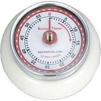 ダルトン キッチンタイマー ウィズ マグネット アイボリー KITCHEN TIMER W/MAGNET IV 100-189IV 1セット(5個)(直送品)