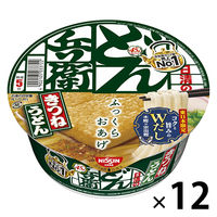 日清食品 日清どん兵衛きつねうどん(どんぶり型)東日本 1ケース(12食入)
