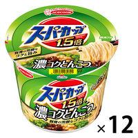 エースコック スーパーカップMAX 濃いとんこつ味 1ケース(12食入)