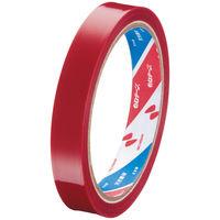 ニチバン セロテープ(着色)15mm×35m 赤 1箱(10巻入) 4301-15