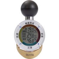 黒球式熱中症指数計 熱中アラーム タニタ TT-562ST サンコーテクノ(直送品)