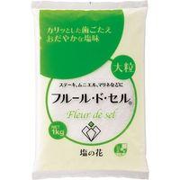 伯方塩業 フルール・ド・セル 1kg 1セット(1kg×1個)(直送品)