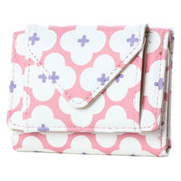ホールマーク花柄ミニ財布 ピンク