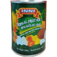 業務用食材 インニ トロピカルフルーツmix(ナタデココ入)1ケース(24缶)(直送品)