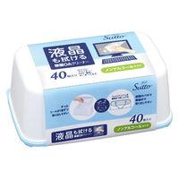 アイリスオーヤマ OA機器/液晶画面 両用 除菌クリーナー ケース本体+シート(40枚入) OWT-NC40 1セット(3個入)