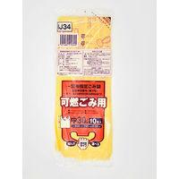 ジャパックス 一宮市指定ゴミ袋 可燃用(中)30L手付きコンパクト IJ34 1ケース(600枚)(直送品)