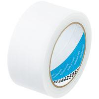 寺岡製作所 養生テープ VOC対策 P-カットテープ 環境配慮型 半透明 1セット(5巻:1巻×5)