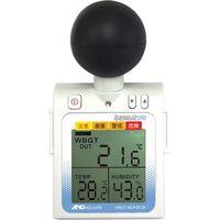携帯型 黒球付熱中症計(WBGT) みはりん坊プロ AD-5698 エー・アンド・デイ 1台