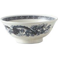 みのる陶器 美濃焼 粉引銀竜紋 6.8寸高台丼 1セット3個入 4965583858775(直送品)