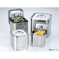 三宝産業 UK 角・深型キッチンポット15cm 09020150(直送品)