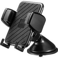 サンワサプライ スマートフォン用車載ホルダー(手帳型ケース対応・オンダッシュタイプ) CAR-HLD11BK 1個(直送品)
