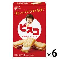 江崎グリコ ビスコ 1セット(15枚入×6箱)