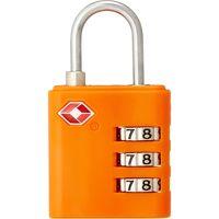 TTC コンサイス TSA3桁ダイヤルカラーロックTL-05T オレンジ 299776(直送品)