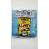 ジャパックス 神戸市指定ゴミ袋 可燃家庭用45L 手付 30枚 KBH54 1セット(600枚)(直送品)