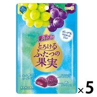 明治 果汁グミ グレープ&マスカット 袋52g