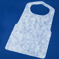 不織布使い捨てエプロン ホワイト CE-W 1セット(2000枚)(直送品)