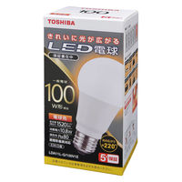 東芝(TOSHIBA) LED電球 E26口金 100W型相当 電球色 (広配光) LDA11L-G/100V1E