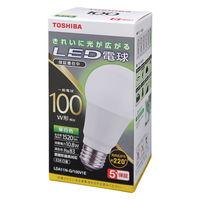 東芝(TOSHIBA) LED電球 E26口金 100W型相当 昼白色 (広配光) LDA11N-G/100V1E